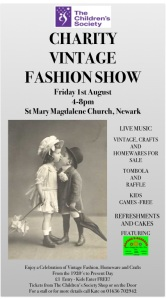 children's society vintage fashion show