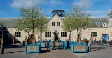 thoresby courtyard