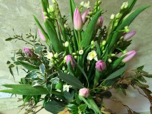 flower pod bouquet