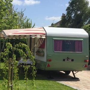 elsie the vintage caravan